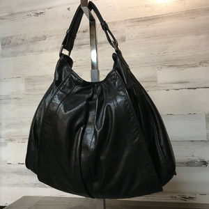 Kenneth Cole New York Leather Hobo Bag [170]
